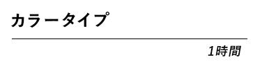 カラータイプ